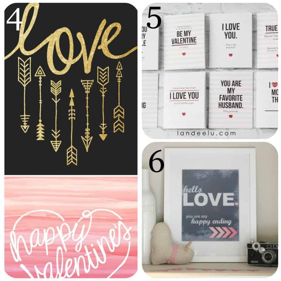4-6 Valentine day Collage