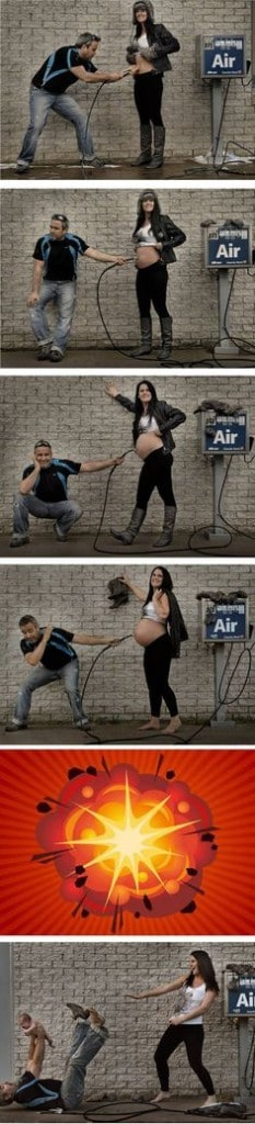 pregnancy at the gas station