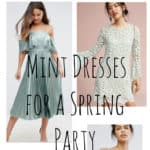 15 Mint Dresses for a Lovely Spring Party!