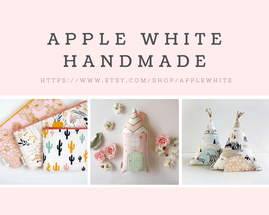 Apple White Handmade Etsy store.