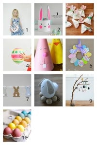 Easter Crafts - 10 Easiest and Cutest Ideas here! shabbymintchiciparty.com