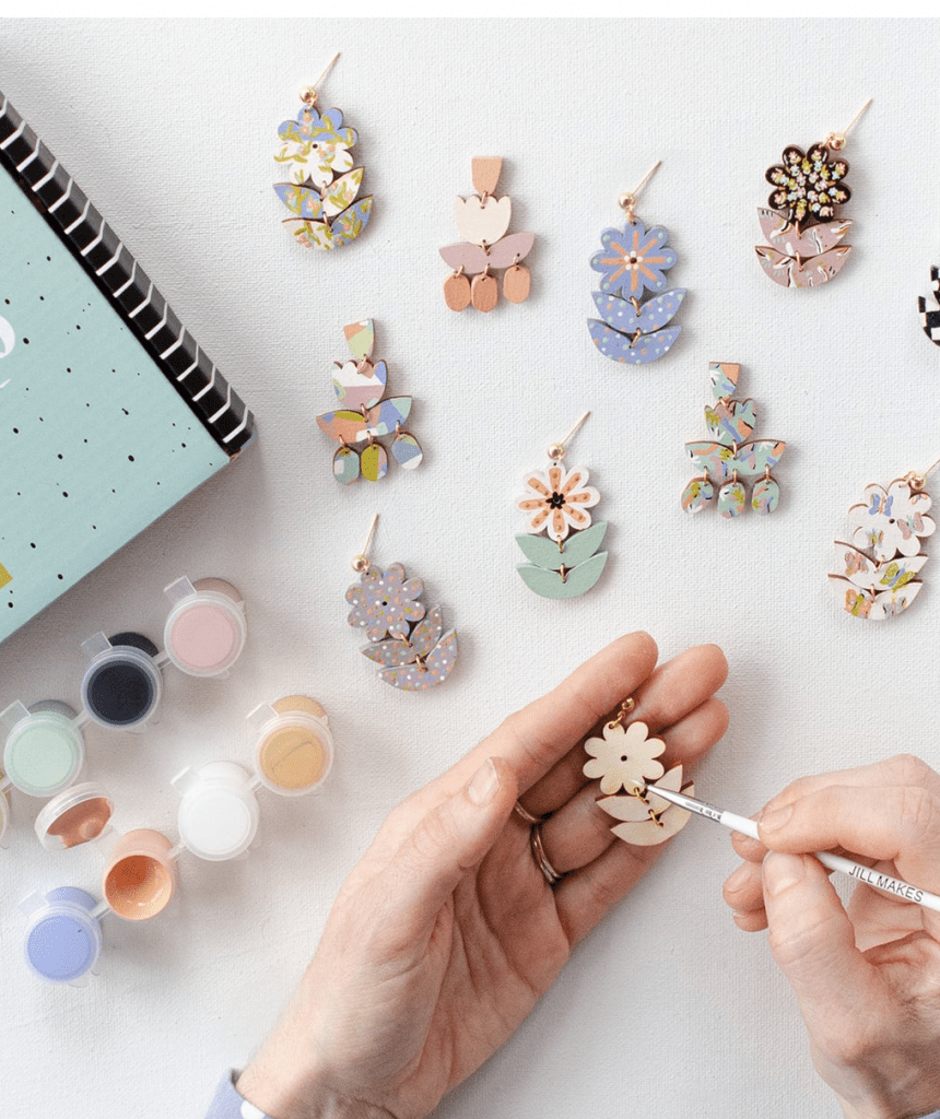 Earring painting kit by JillMakes