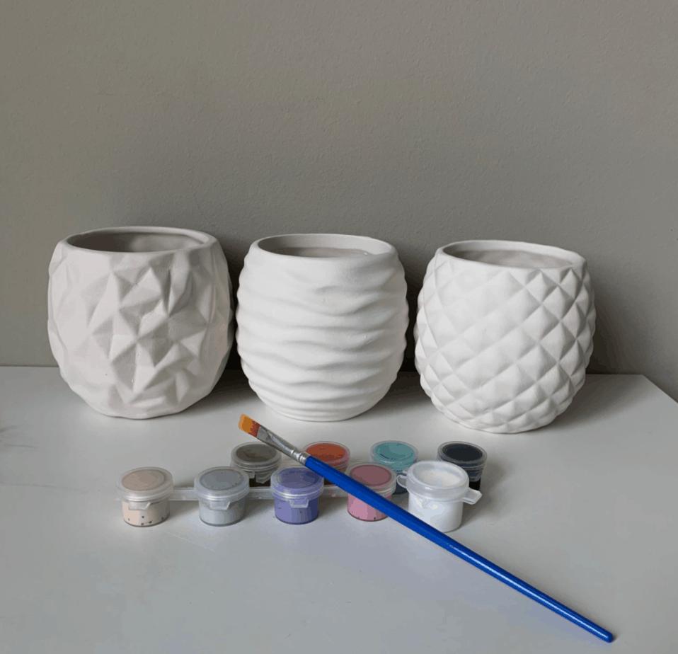 pottery painting kit etsy