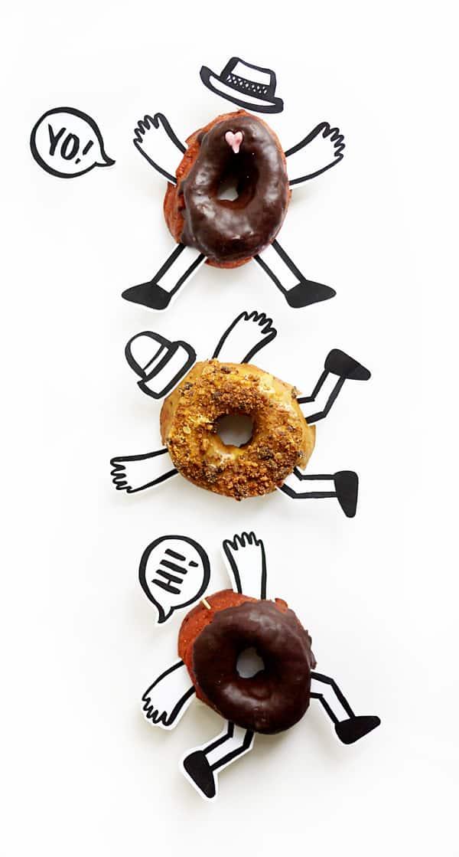 Donut buddies printable