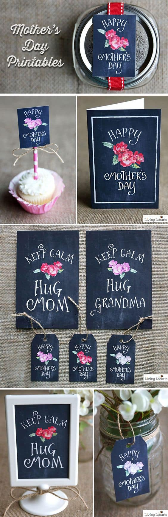 Mother's Day Printables. shabbymintchicparty.com