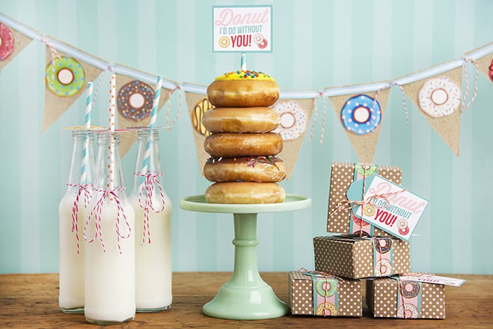 Donut Party decoration printables