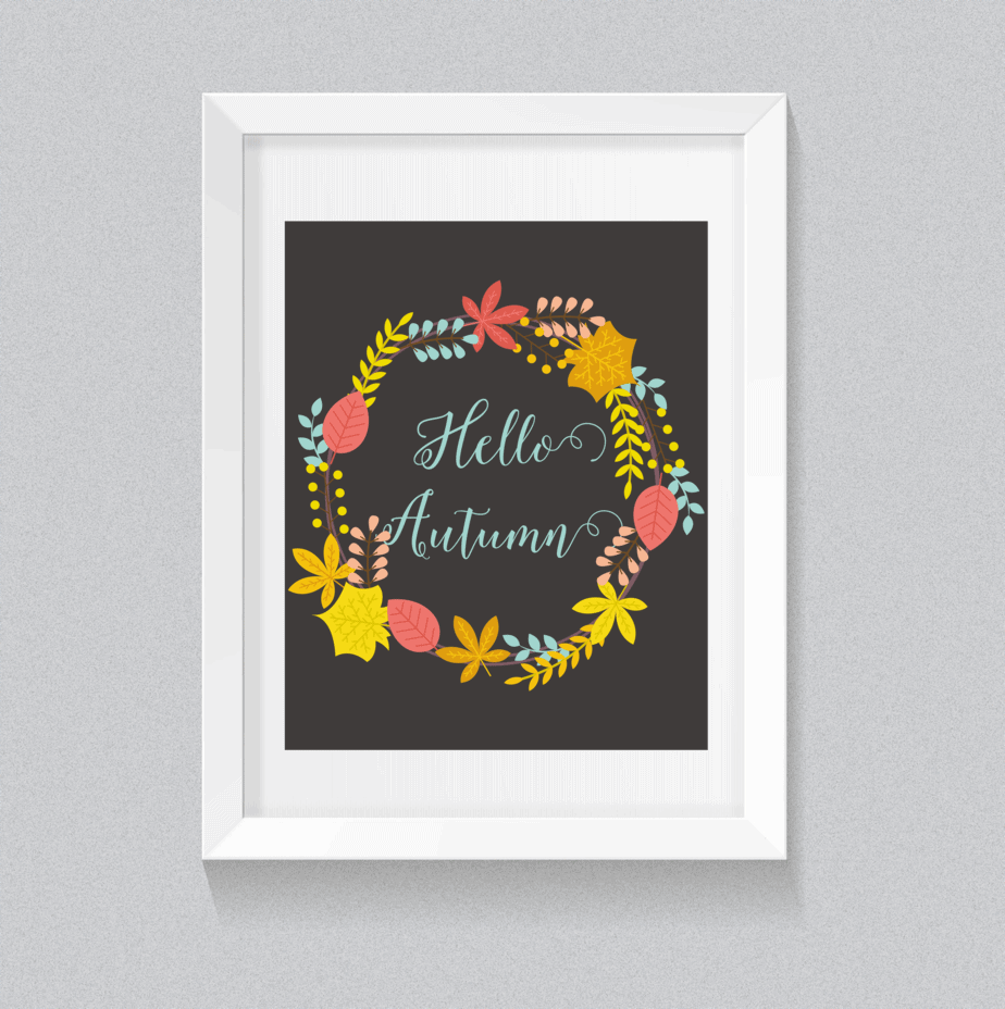 Welcoming Fall with Some Awesome Free Printables