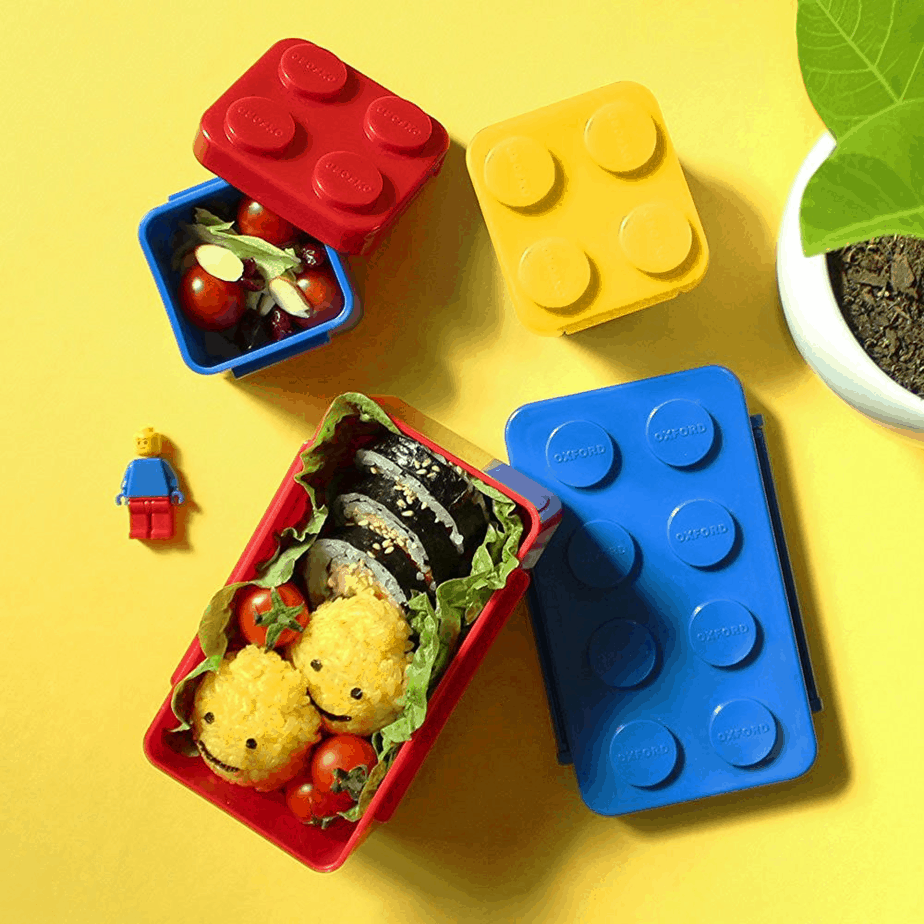 Brick bento lunch box for the picky eater.shabbymintchicparty.com