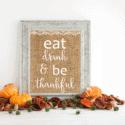 Free  Shabby Chic Thanksgiving Printable
