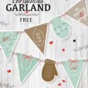Weekend Round-up: Free Christmas Banner and Gift Tag Printables