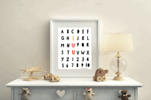 Valentine's Day Alphabet Printable