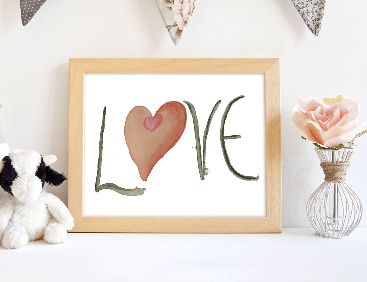 Valentine's Day love printable