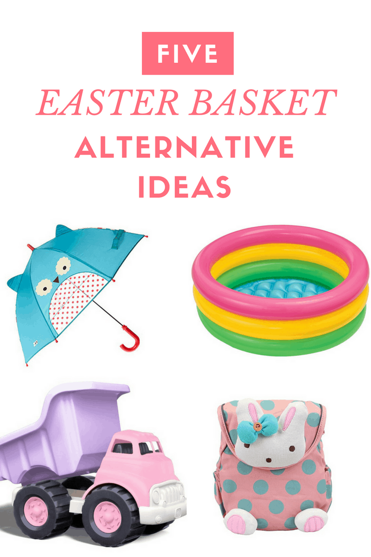Awesome non-candy Easter baskets for little girls