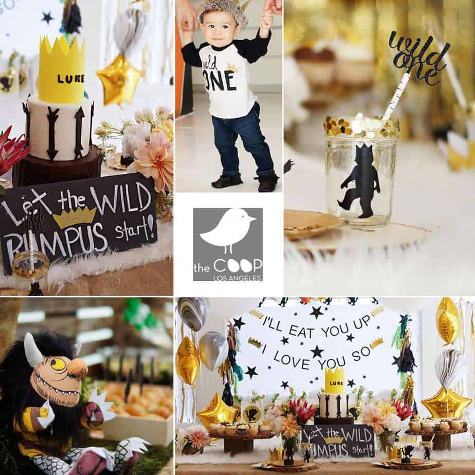 wild One Themed party - Shabby mint chic party