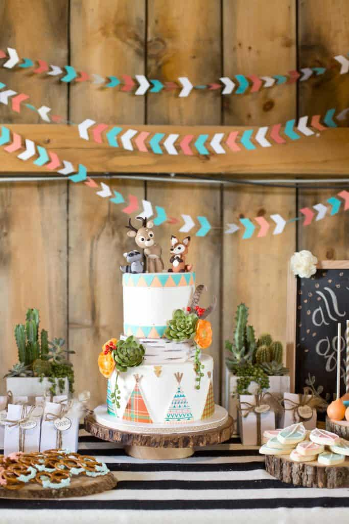 Wild One Themed Party - Woodland Party