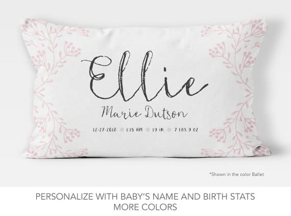 Personalized Pillow Sweet Summer Lee