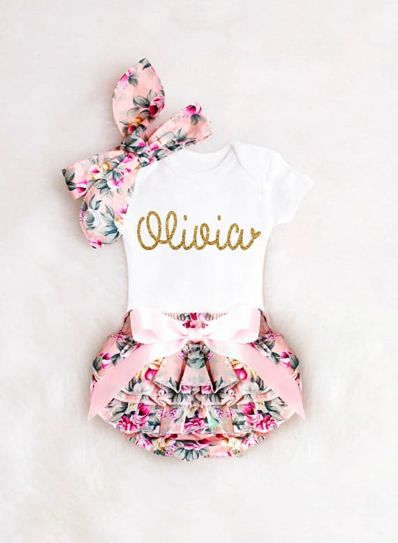 personalized gifts, baby gift, baby outfit