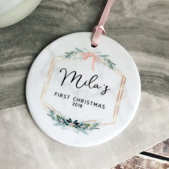 Personalized ornaments beautiful gift shop