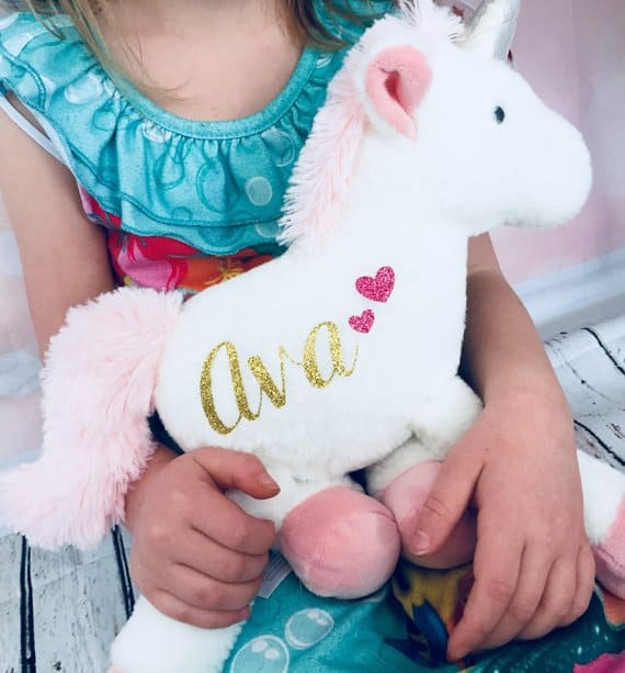 Personalized unicorn roseandlilyboutique