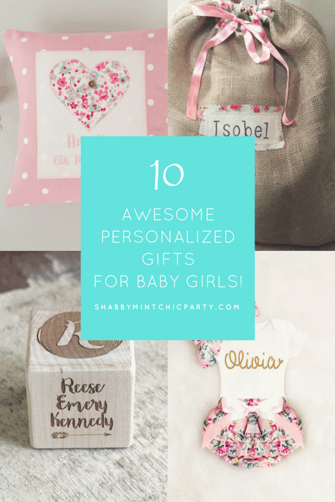 personalized gifts for baby girl