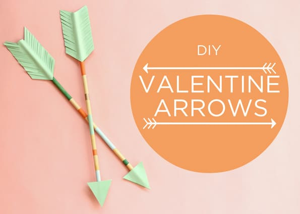 Valentine's Day arrows