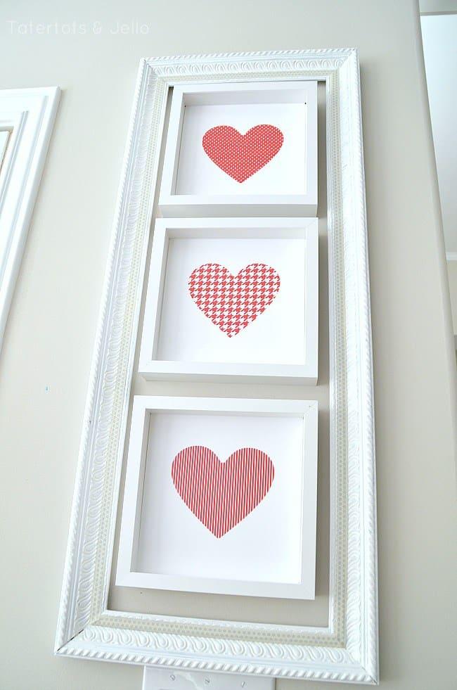 Valentine's Day pattern heart