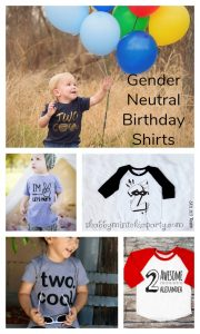 Birthday Shirts Neutral