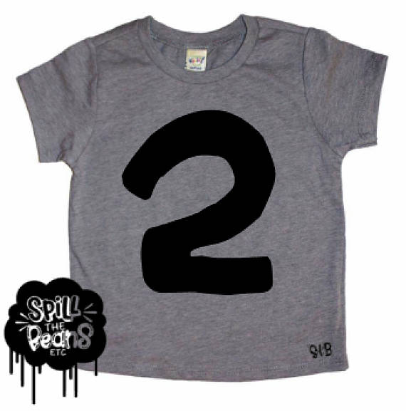 Birthday Shirt Number 2