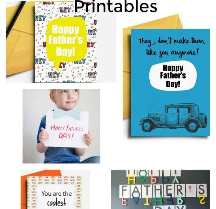 17 Free Father's Day Printables
