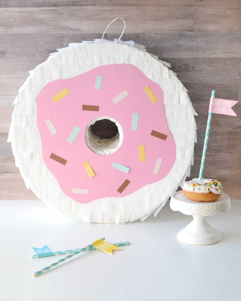 Donut Theme Party Donut Pinata