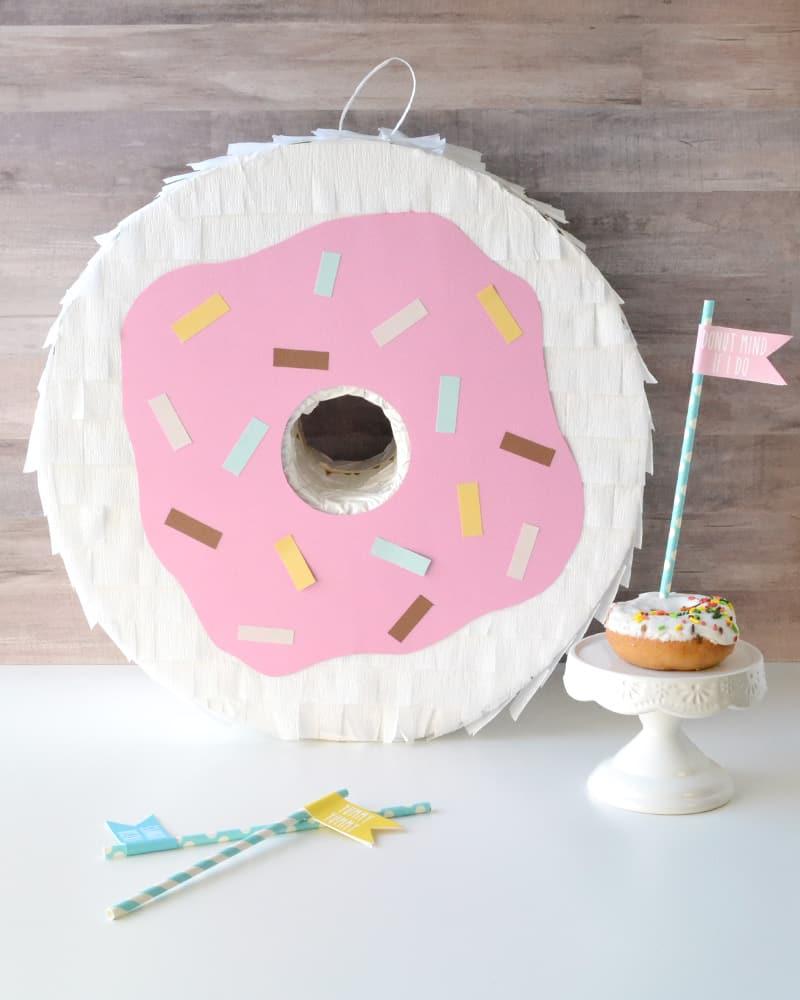 Donut Theme Party Donut Pinata