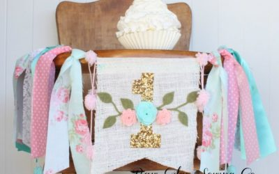 28 Beautiful First Birthday High Chair Banners