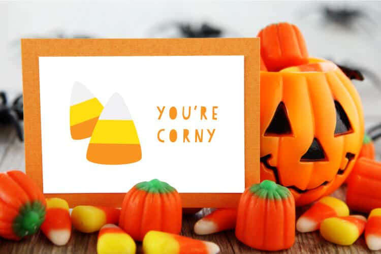 Halloween SVG Corn Candies