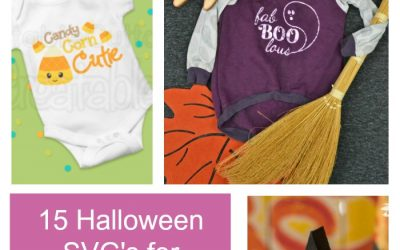 15 Free Halloween SVG files for little kids