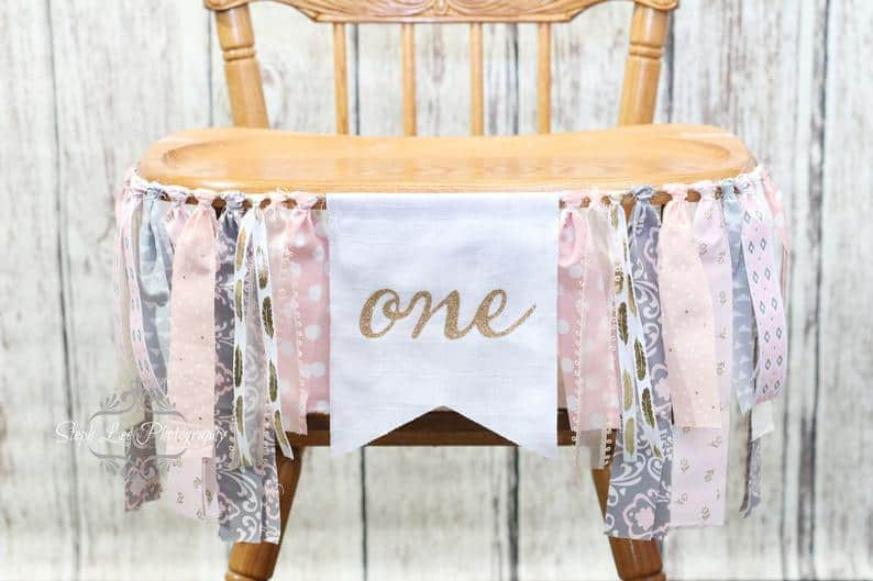 shabby chic simple one high chair Pin by PhotograMom Props