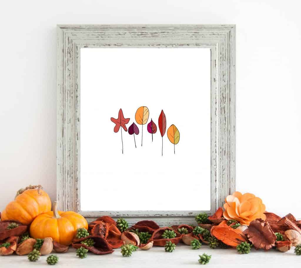 Free Fall Printables Fall Leaves
