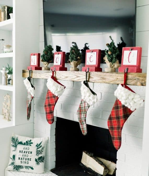 Christmas Stocking Holders for your Christmas Stockings