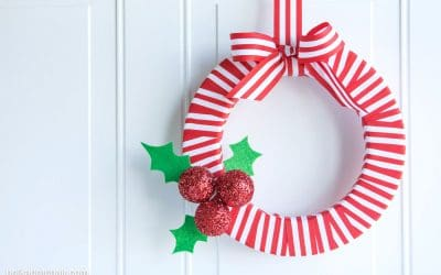 12 CHEAP DIY CHRISTMAS WREATHS YOU CAN MAKE IN 30 MINS OR LESS!