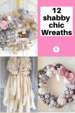 12 Simply Beautiful Shabby Chic Wreaths