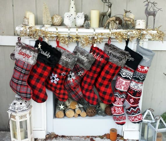 Christmas Stockings eugenie2