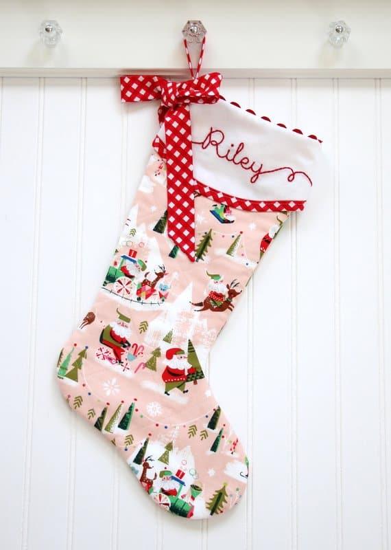christmas stocking tada creations