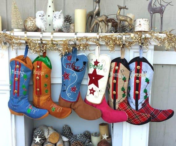 cowboy christmas stockings Eugenie2