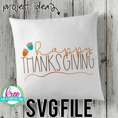 happy_thanksgiving_acorns Thanksgiving SVG