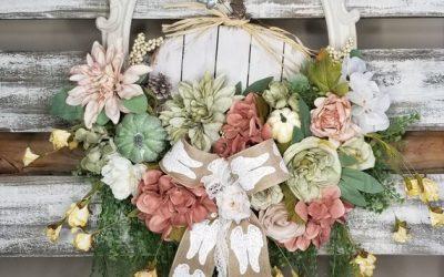12 Simply Beautiful Shabby Chic Wreaths