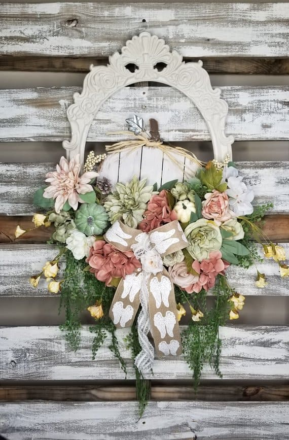 shabby chic wreaths Rains Creations Shop