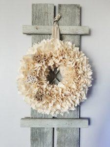 shabby chic wreaths