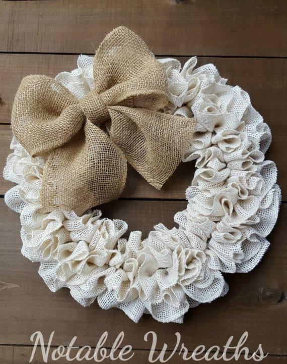 shabby chic wreaths notable wreaths