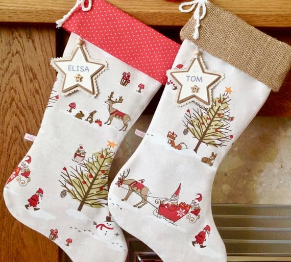 christmas stocking lotti ann designs