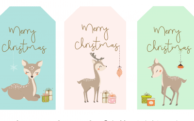 Free Christmas gift Tags – Day 10
