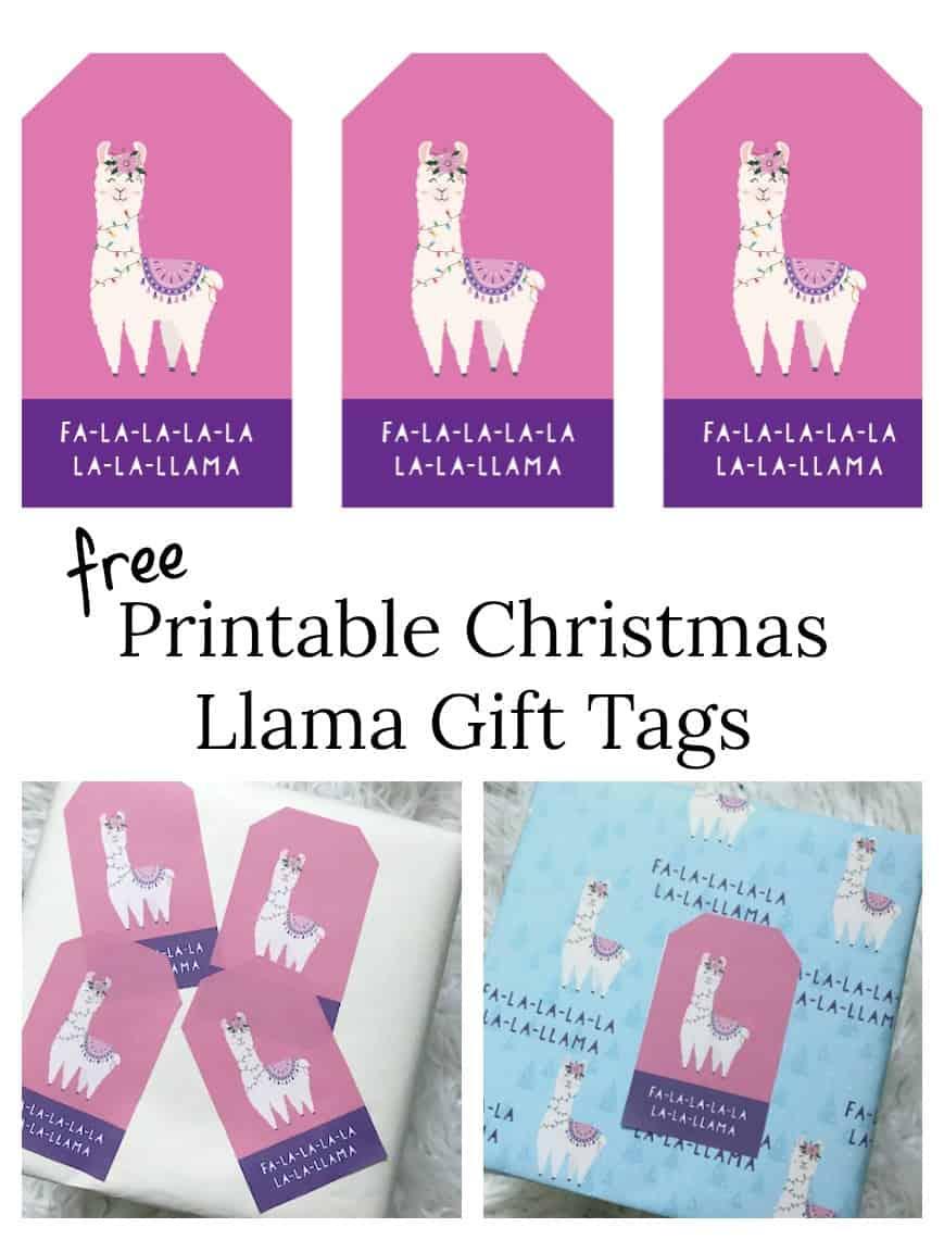 Christmas Gift Tags Pinterest.Purple Llama Christmas Gift Tags Pinterest Shabby Mint